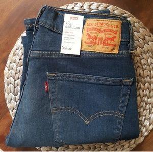 Levis, 505 regular fit Size 30x32 NWT